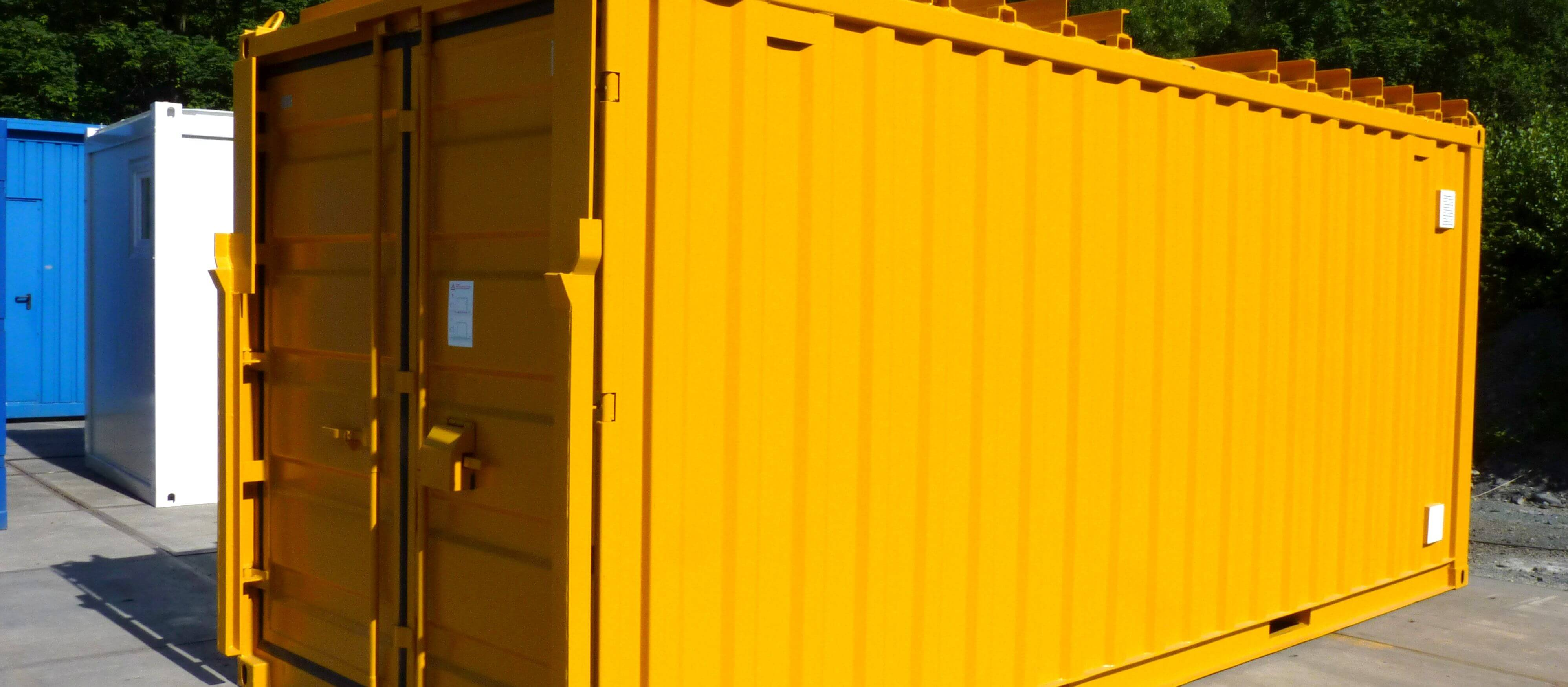 Lagercontainer, Technikcontainer
